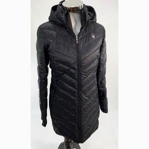 11c2d1de80 Spyder Jackets   Coats - Spyder Women s Knee Full Zip Hooded Puffer Coat